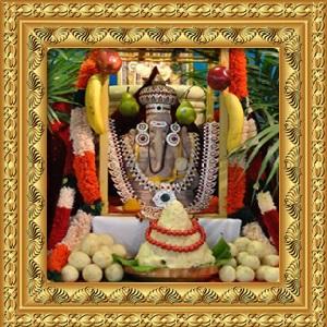 MahaGanapathy Utsav Main Sponsor (All days All Pujas)