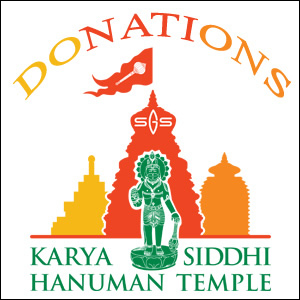 Devotees can donate any amount towards the General Donations. They can make a payment through online, check or at temple registration desk.<div><br></div><div>If Devotee is donating towards any specific request or reason, please email info@dallashanuman.org with the details.<br><div><br></div></div>