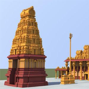 Raja Gopuram Brick Sponsor