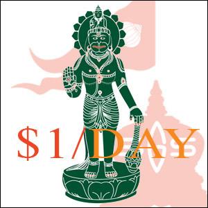 Hanuman Setu Bandha